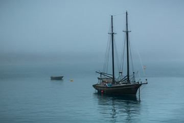 At Anchor in Fog