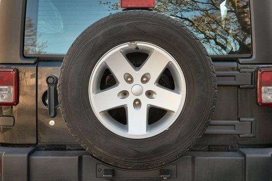 Wheel of a 4x4 vehicle