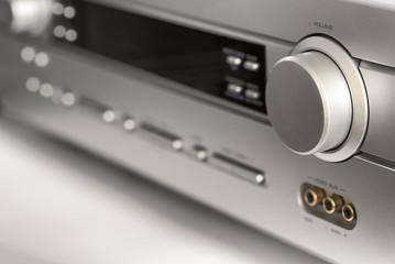 audio equipment close-up