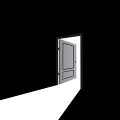 open door, success, hope, future