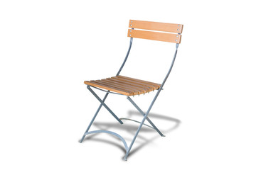 chair,isolated on white background with clipping path.