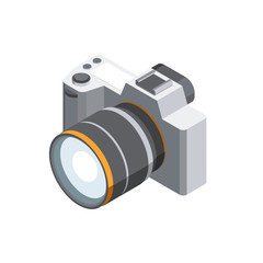 Digital Photo Camera 3D isometric