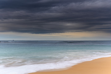 Blue and Gray Morning Seascape