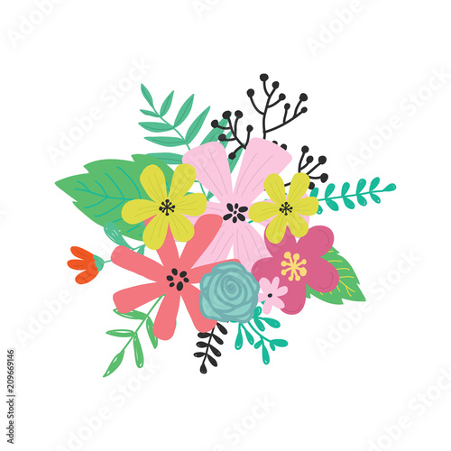 Floral cute card perfect design for greeting cards posters t floral cute card perfect design for greeting cards posters t shirts m4hsunfo