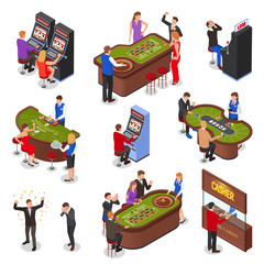 Isometric Casino Set