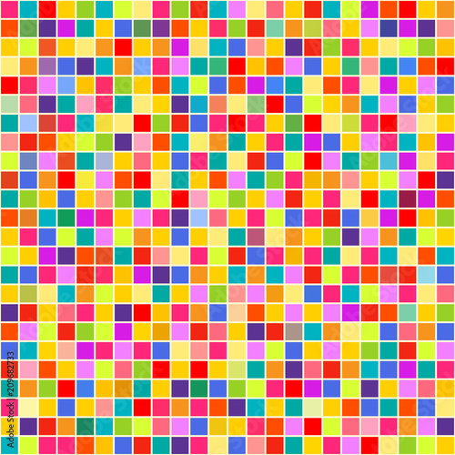 Seamless Tile Pattern Checkered Background Abstract Geometric Wallpaper Cute Colors Print For