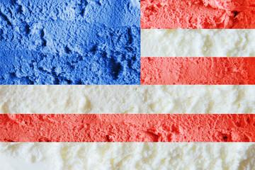 Background of ice cream.