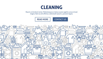 Cleaning Banner Design