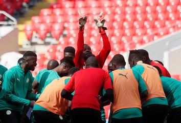World Cup - Senegal Training