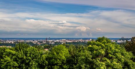 Panorama de Lyon et environs depuis Saint-Cyr-au-Mont-d'or