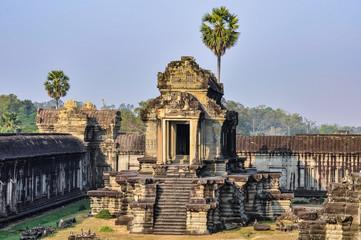 The main temple in Angkor Wat, Cambodia