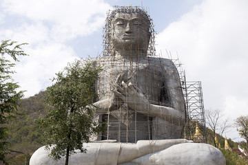 Big Buddha Statue Under Construction