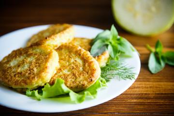 fried zucchini fritters