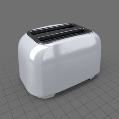 Rounded toaster