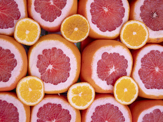 Background, citrus fruits, Sicilian orange