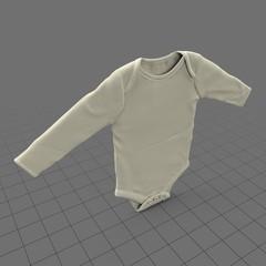 Longsleeve baby bodysuit