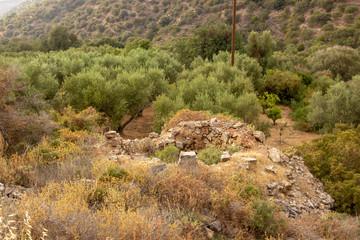 Ruine in den Bergen