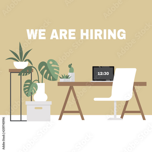 We Are Hiring Looking For An Employee Hr Human Resources Office