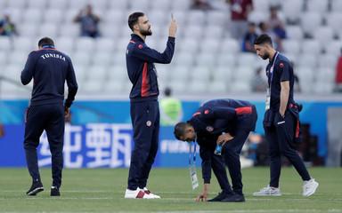 World Cup - Group G - Tunisia vs England