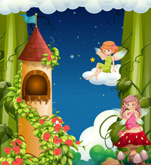 A Magical Fairy Land and Castle