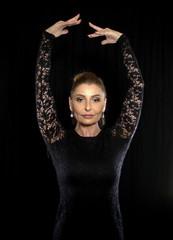 Ballerina in Schwarz