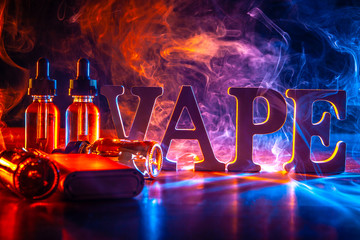 Popular vaping device mod. vape. vape smoke