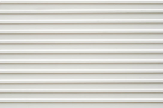 White Corrugated metal texture surface background or galvanize steel background