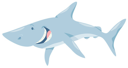 cartoon shark fish animal character