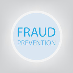 fraud prevention concept- vector illustration