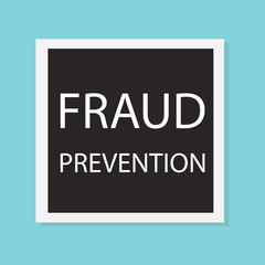 fraud prevention concept- vector illustration