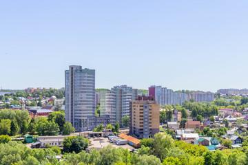 view of the city Cheboksary