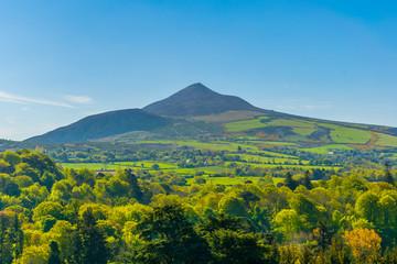 Sugarloaf hill in Ireland Fototapete