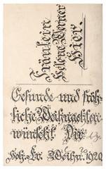 Old postcard handwritten calligraphic text vintage texture background