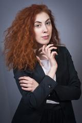 Fashionable beautiful businesswoman