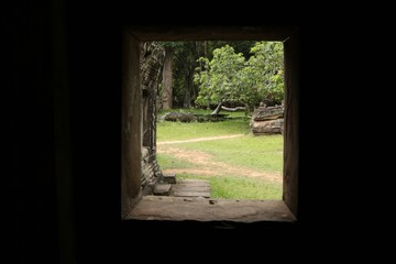 Ruine khmer à Angkor