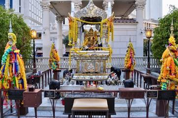 Buddhist Prayer Shrine