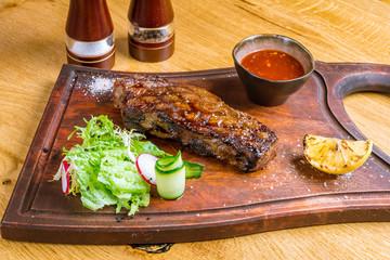 juicy Striploin Steak
