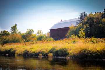 The barn on the river
