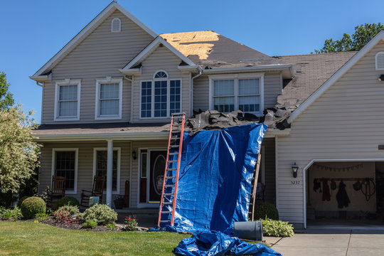 Home Roof Repair - New Roof - New Shingles