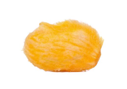 Seed of mango on white background