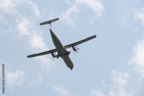 Propellermaschine Flugzeug Mit Propellerantrieb Stock Photo And
