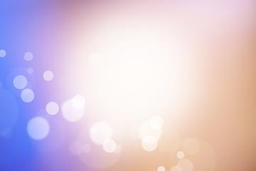 夕方の空をイメージ(ボケの背景素材)