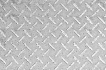 Metal Diamond plate pattern and background
