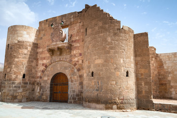 Main entrance gate of Aqaba Fortress