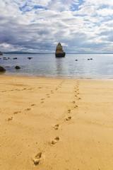 Camilo beach in Algarve Portugal