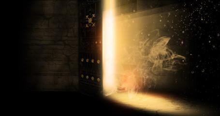 The open door, magic Fotoväggar