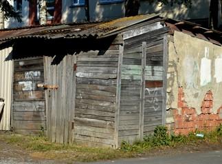 Old barn in the city, Tallinn