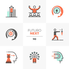 Business Skills Futuro Next Icons