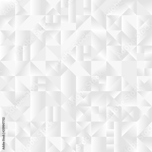 White Gradient Triangle Background Desktop Wallpapers