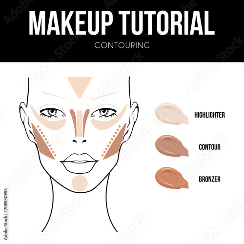 Contouring Makeup Tutorial For Oval Face